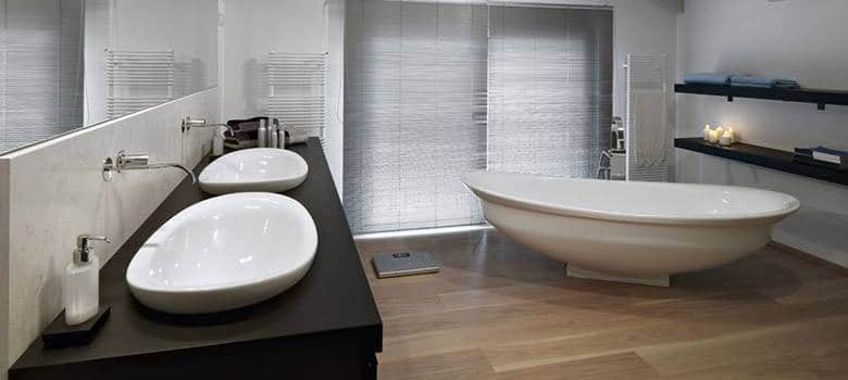 best flooring bathroom 6 best bathroom flooring options ideas pros amp cons 12066