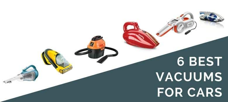 6 best vacuums for cars