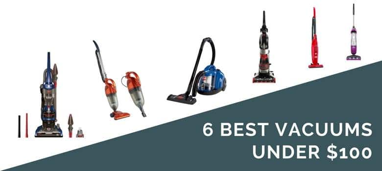 6 best vacuums under $100