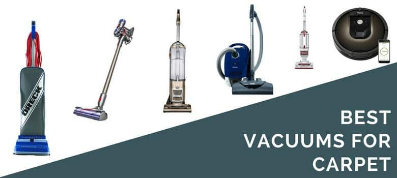 6 Best Vacuums For Carpet