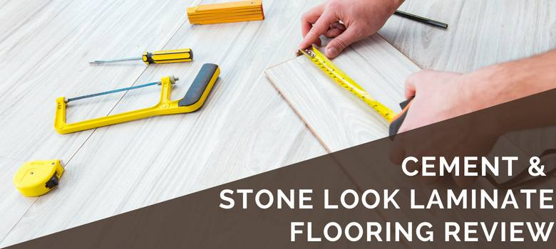 cement stone laminate planks review