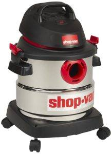 shop vac 5-gallon stainless steel wet dry vacuum