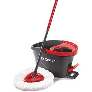 o cedar easywring spin mop and bucket