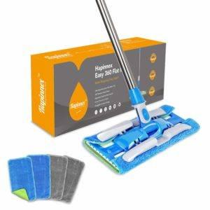 hapinnex microfiber dust floor mop