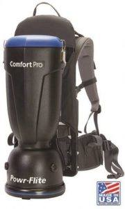 powr flite bp6s comfort pro backpack vacuum
