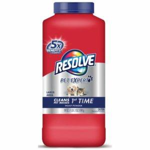 resolve pet carpet cleaner powder