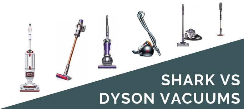Shark vs Dyson Vacuums