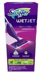 swiffer wetjet hardwood floor spray mop