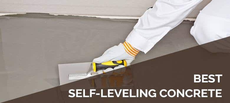 best self-leveling concrete