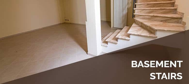 Best Flooring Options For Basement Stairs, What Is The Best Flooring To Put Down In A Basement