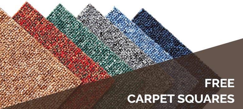 Free Carpet Squares