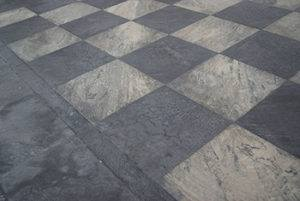 Tiled Rubber Flooring