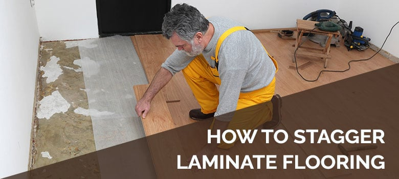 how to stagger laminate flooring
