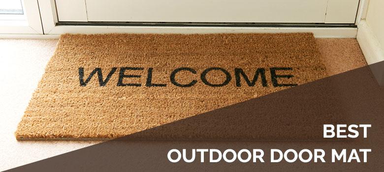 best outdoor door mat
