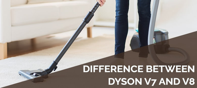difference between dyson v7 and v8
