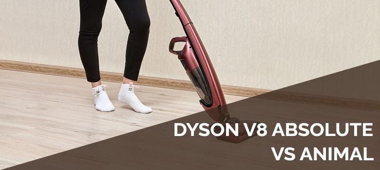 dyson v8 absolute vs animal
